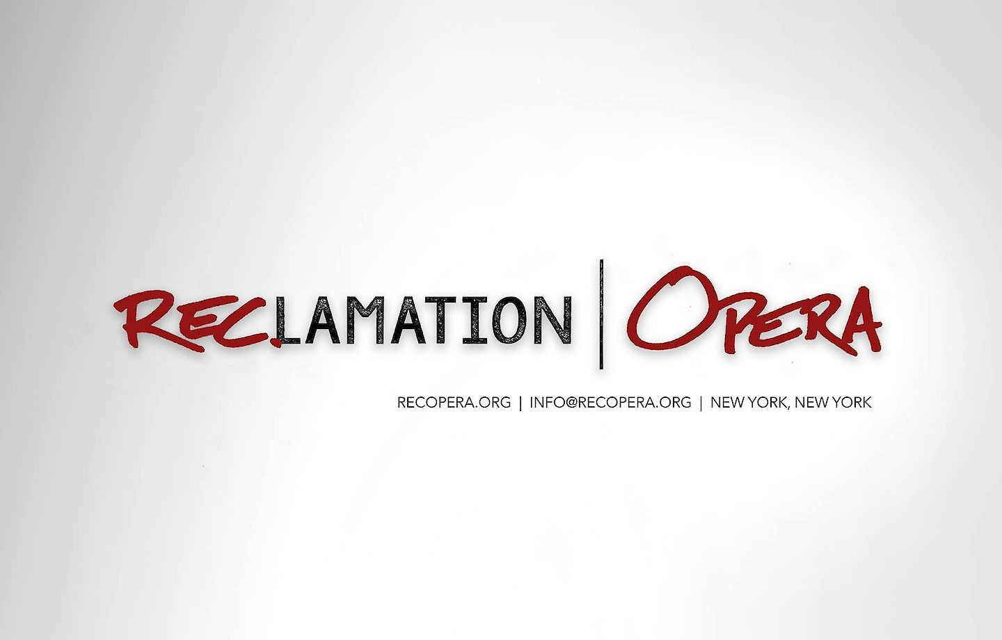 RECLAMATION OPERA to produce video of Ordinary Dust: Lazarus Lieder image